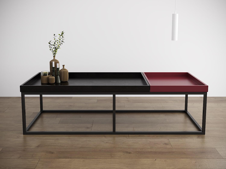 שולחן סלון בראוניז