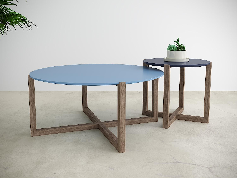 שולחן סלון אוקלנד